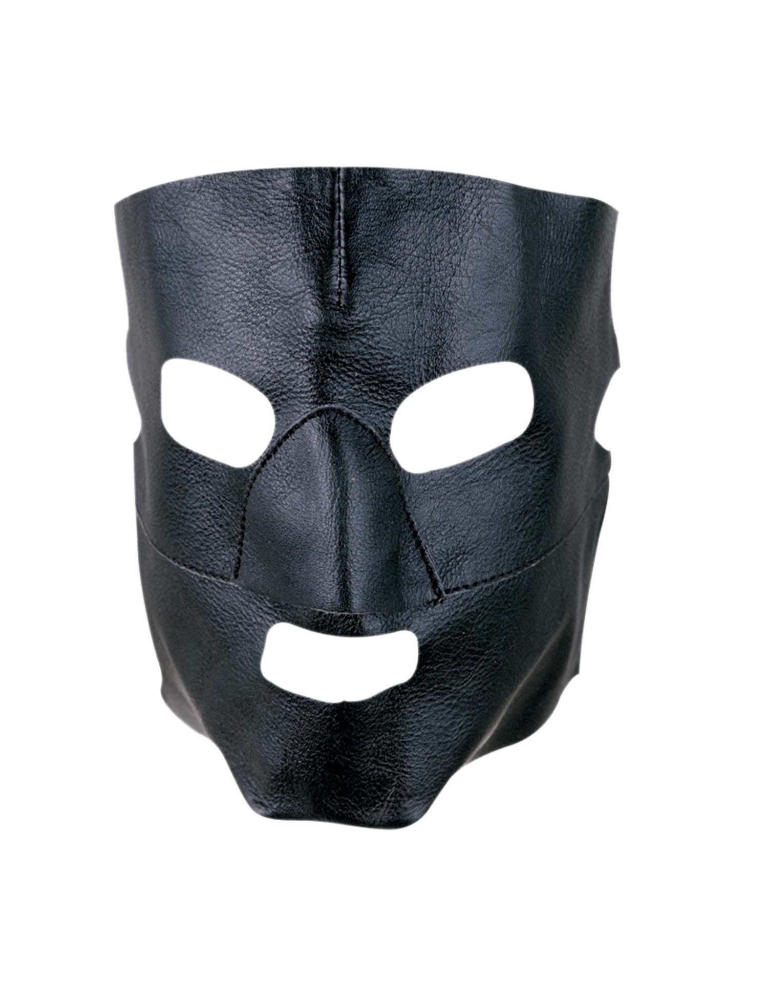 Black Gimp Face Mask