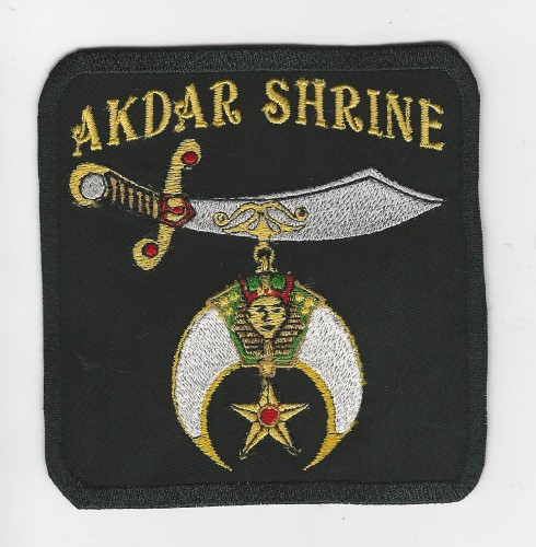 "Akdar Shrine 4"" Patch"
