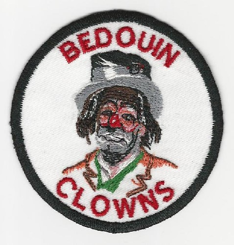 Bedouin Shrine Tramp Clown patch