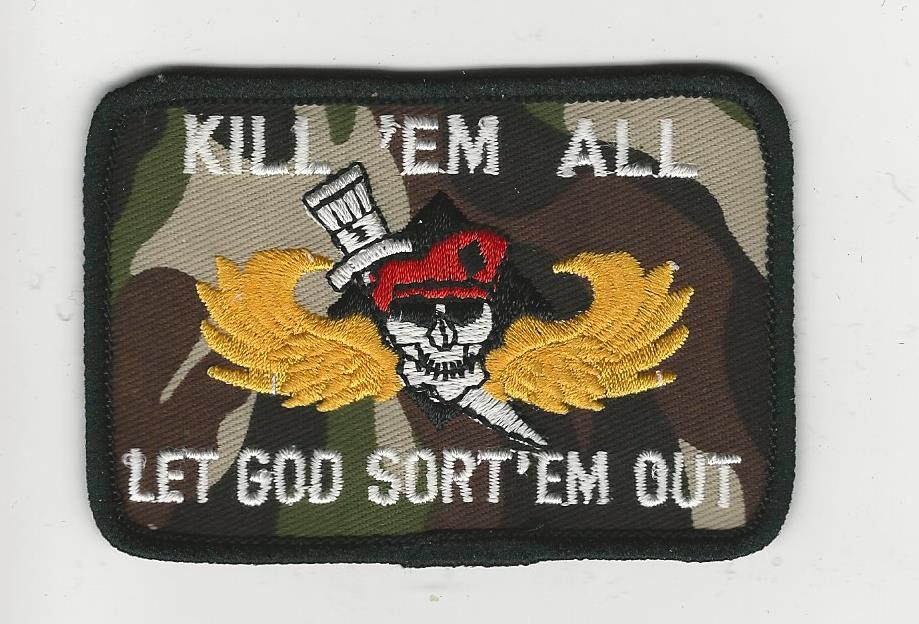 Kill'em All Let God Sort'em Out Patch