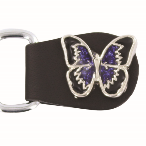 Ladies Butterfly Vest Extender- Purple