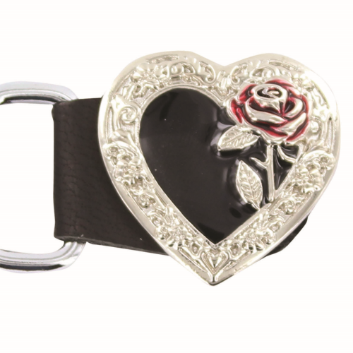 Ladies Deluxe Heart And Rose Vest Extender