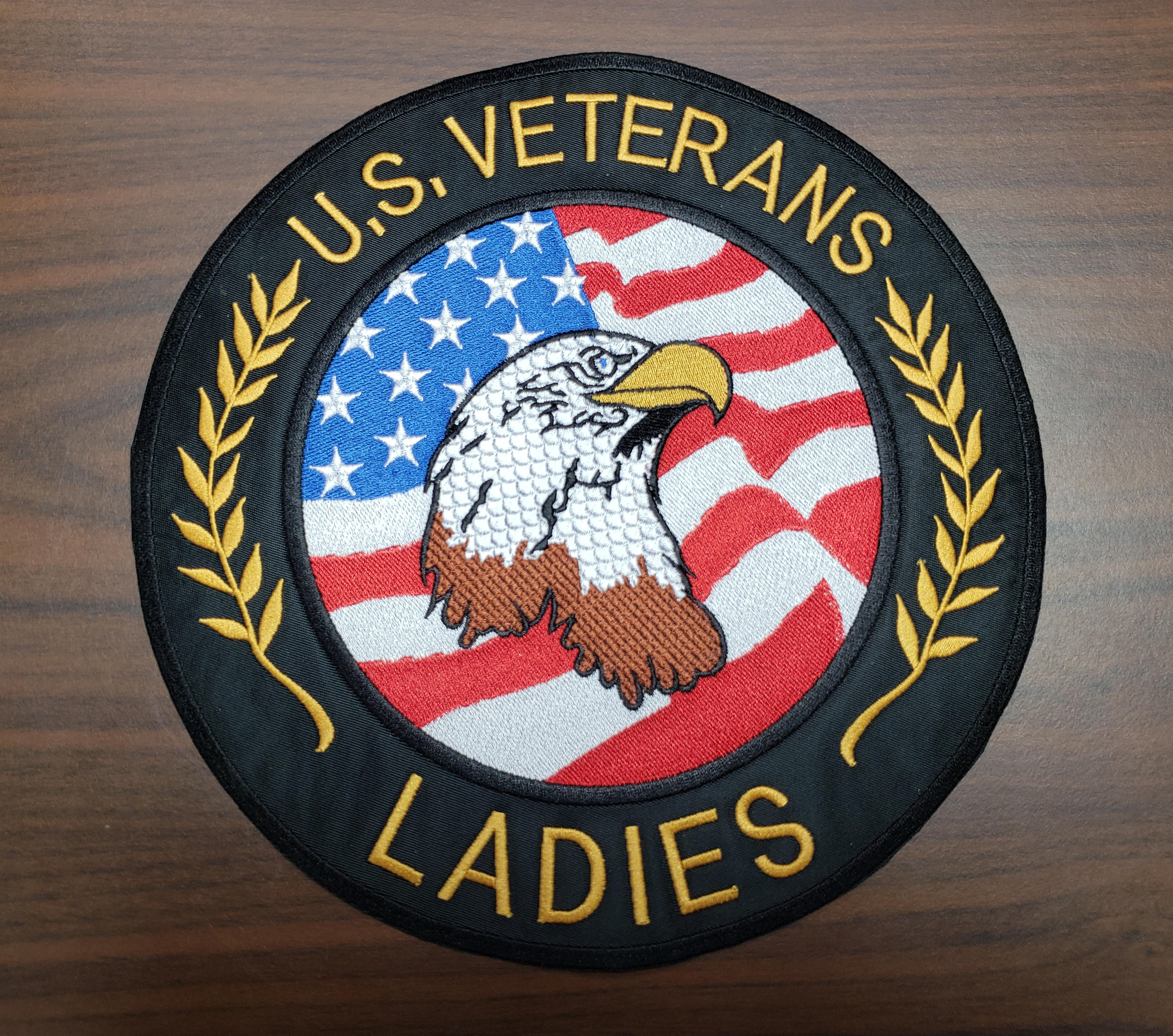 Ladies Round Back Patch