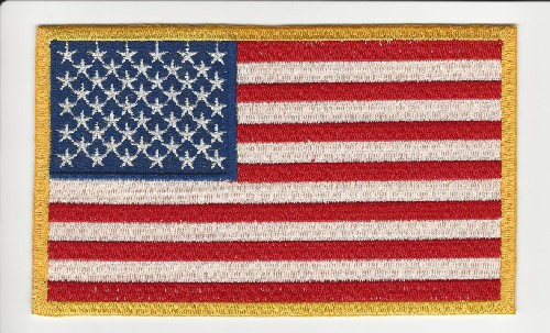 American flag 3.5'x 6' Patch