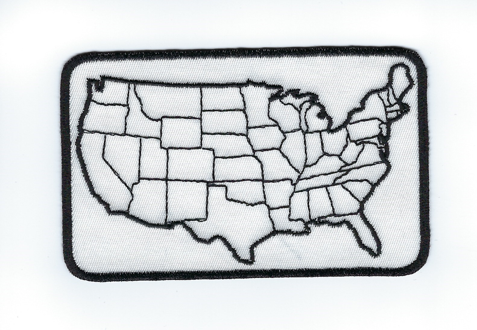 United States Outline Patch 4' side 4' x 2.54'