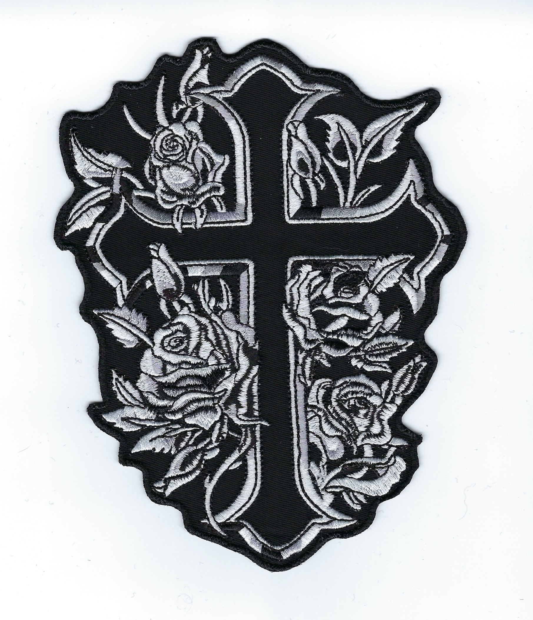 6' Rose Cross