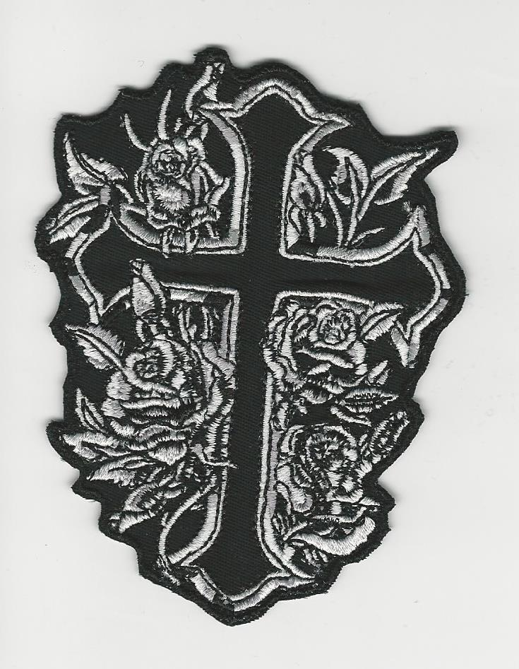 4' Rose Cross