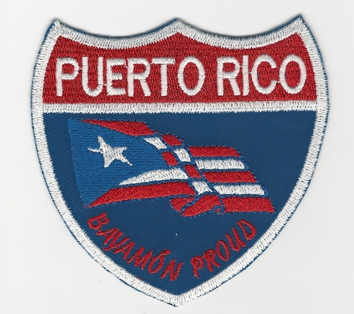 Puerto Rico Bayamón Proud patch