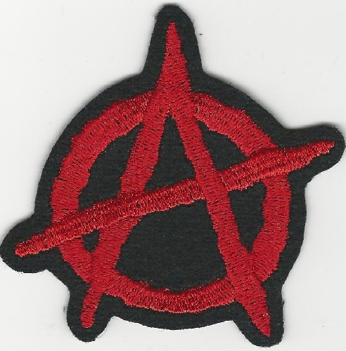 Anarchy Symbol patch