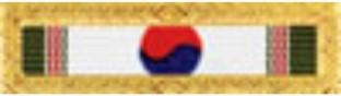 Air Force Korean Presidential Unit Citation Ribbon