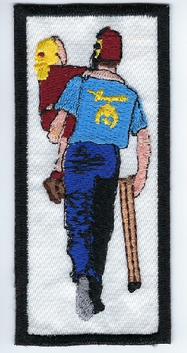 Shriner's Silent Messenger patch