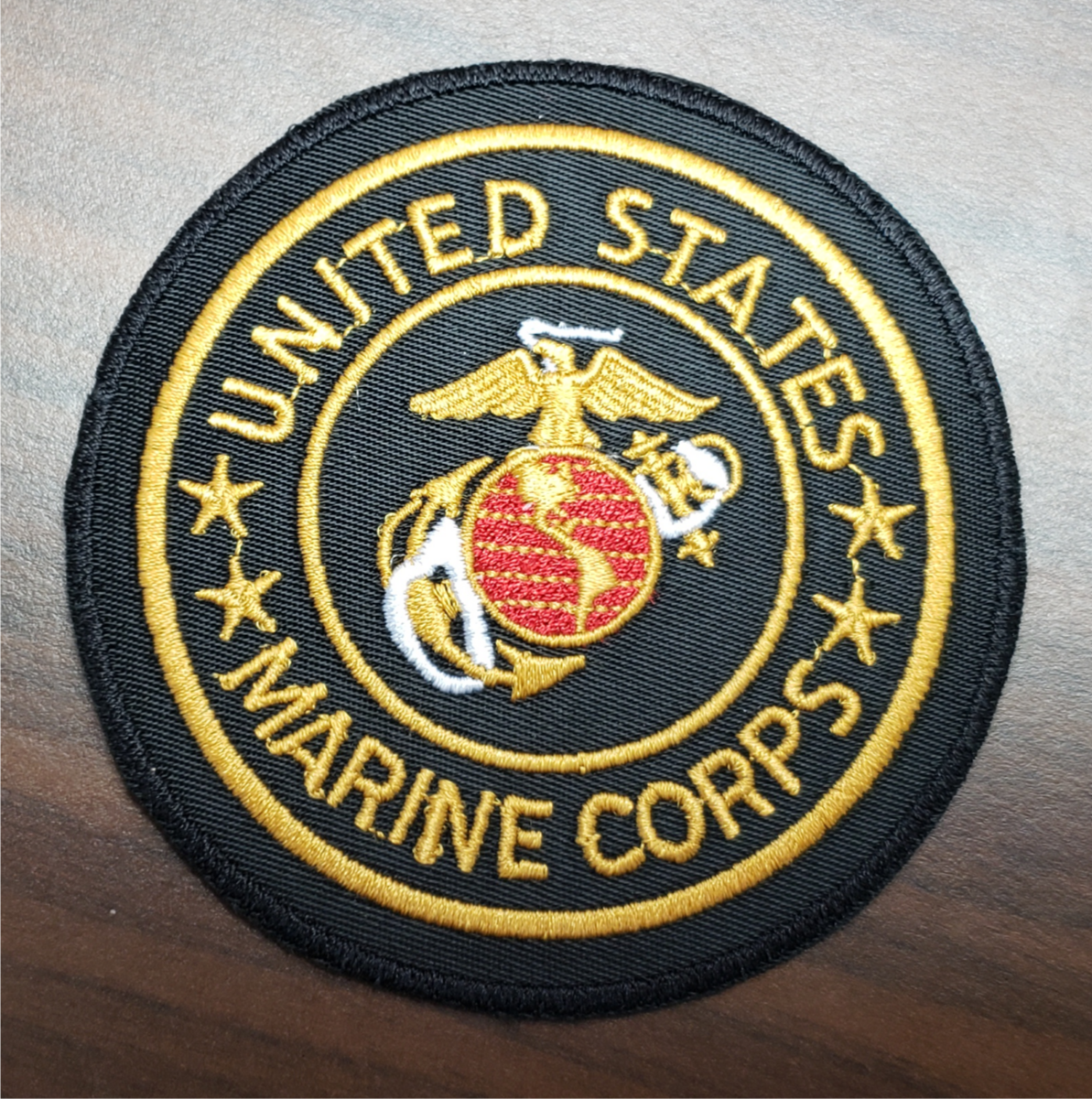 "US Veterans 3"" Marine Corps patch"