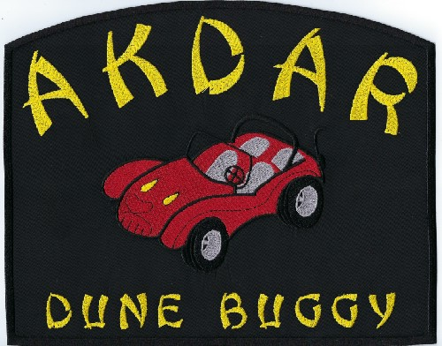 Akdar Shrine Dune Buggy Patch, 10""