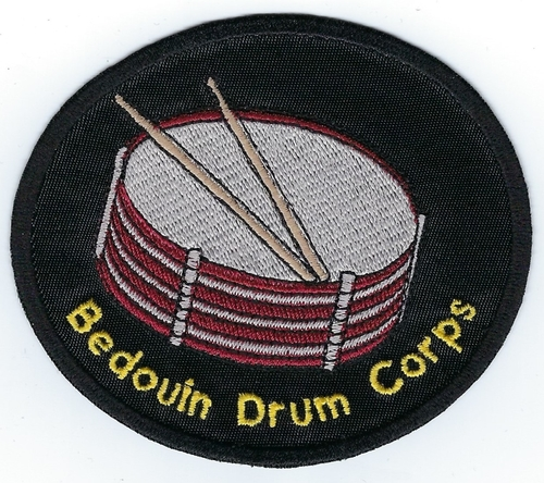 Bedouin Shriners 4' Drumcorps patch