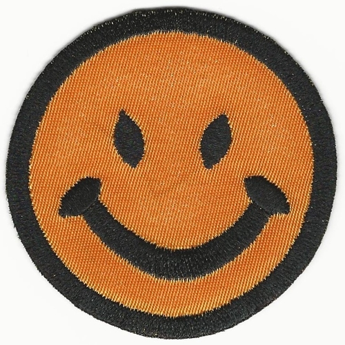 "3"" Happy face patch"