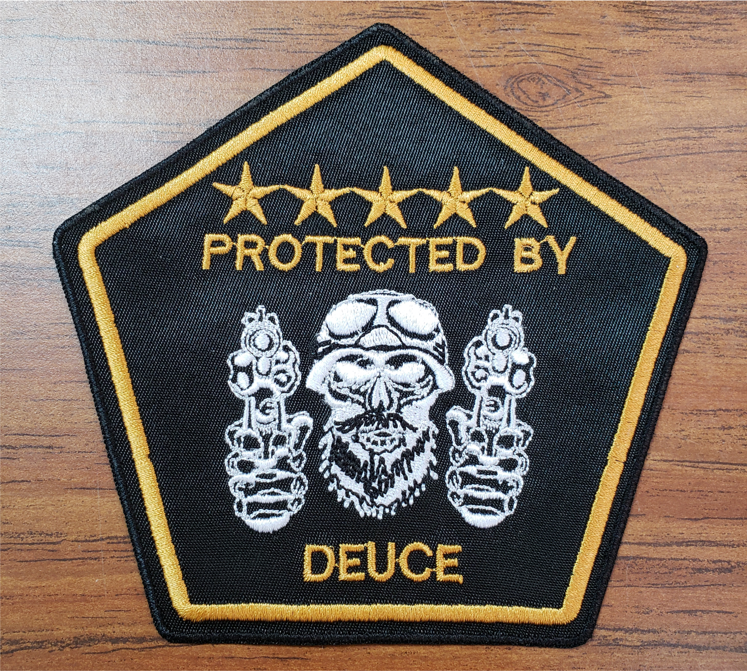 US Veterans MC Ladies' Protected by Patch