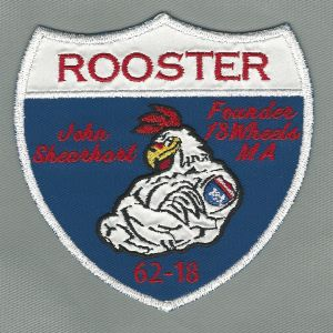 Rooster Memorial Patch