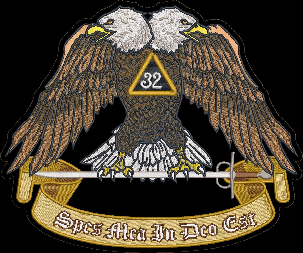 Masonic 32nd Degree Color patch PATCH