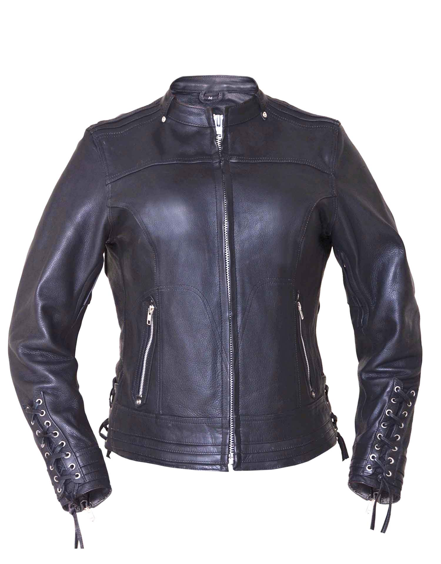 Ladies Ultra Euro Jacket With Side Lace (Size: Small)