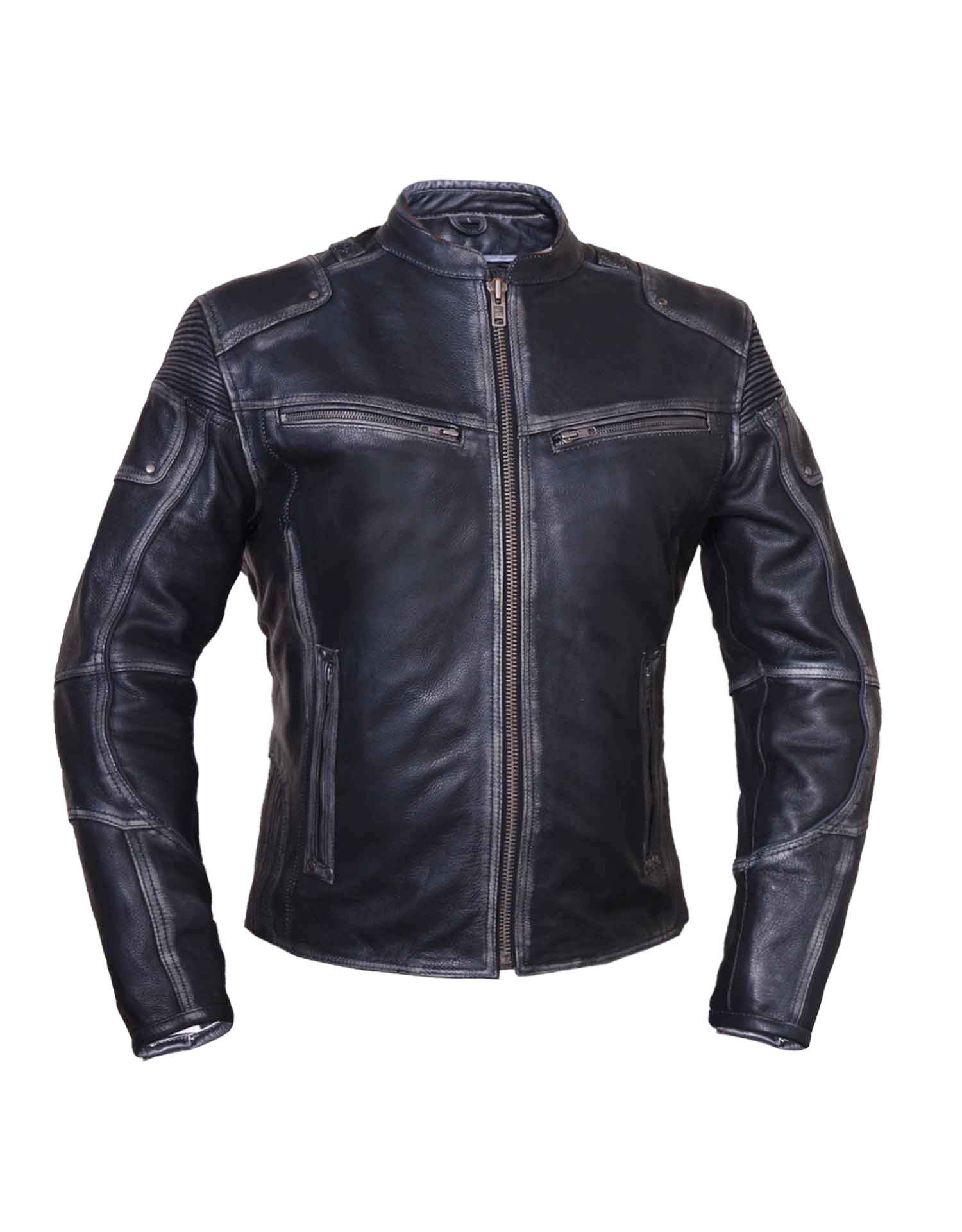 Ladies Durango Reflective Leather Jacket (Size: Small)