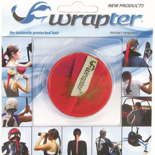 Wrapter Hair Wrap (Color: Red)