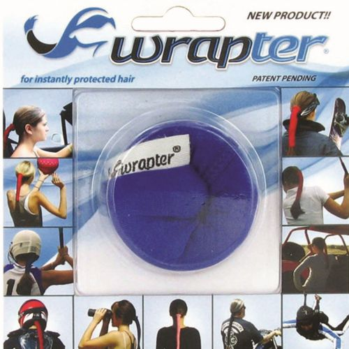 Wrapter Hair Wrap (Color: Blue)