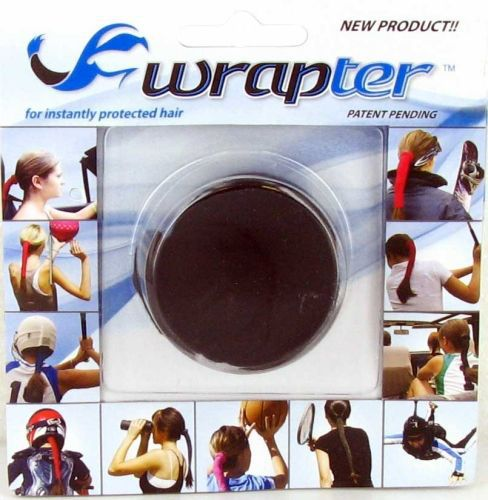 Wrapter Hair Wrap (Color: Black Paisley)