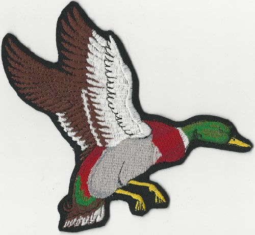 "Mallard Duck patch (Patch Size: 7"" W x 6"" T)"