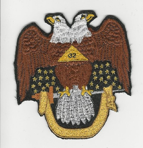 Scottish Rite Patches | Embroidered Masonic Patches
