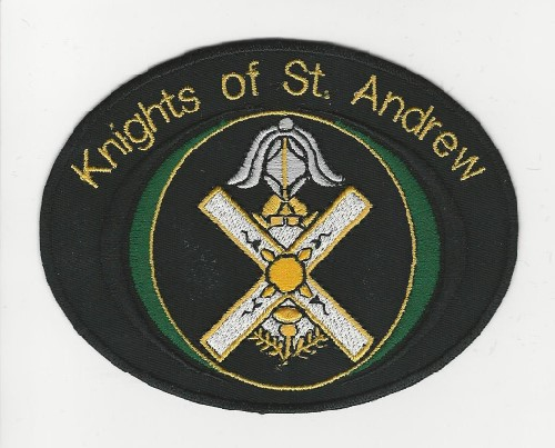 Knights of St. Andrew patch (Color: Green)