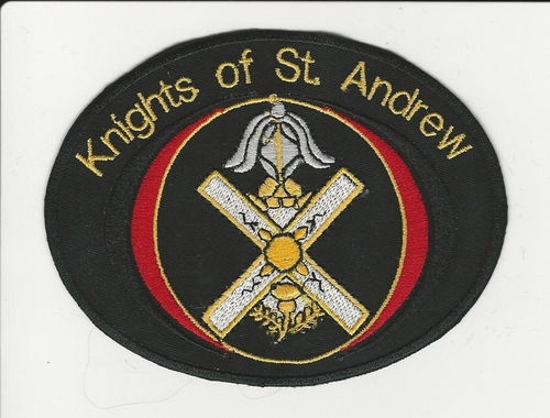 Knights of St. Andrew patch (Color: Red)